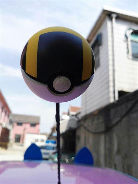 black pokeball antenna balls car aerial antenna topper decor ebay