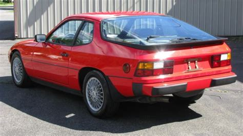 4 door porsche for sale 1982 porsche 924 turbo 77 900 miles red 2 door 4 cylinder