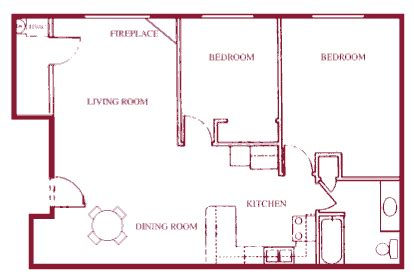 railroad style apartment floor plan apartment photos and floor plans heritage estates