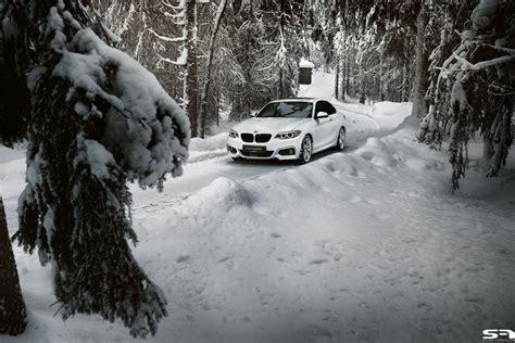 Bmw 1er Im Winter by Bmw 2er Coup 233 M Sportpaket Im Schnee Wei 223 Auf Wei 223