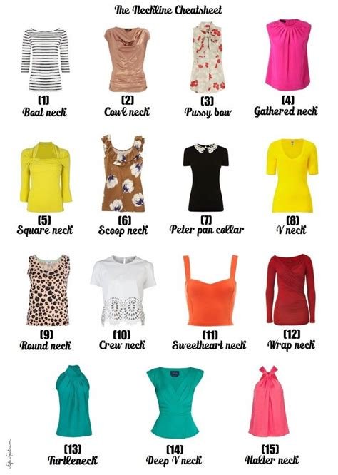 popular pattern types guest blogger sleeves necklines silhouettes for your