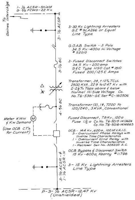 one line wiring diagram symbols line free