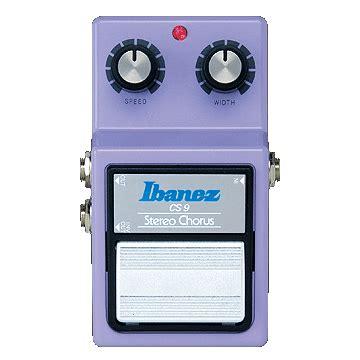 Ibanez Cs Chorus Mini Pedal Effect ibanez cs9 stereo chorus guitar effects pedal dv247