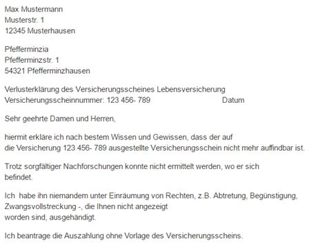 Lebenslauf Muster In österreich Versicherungsschein Muster Versicherungsschein Muster 2 Versicherungsschein Kndigung