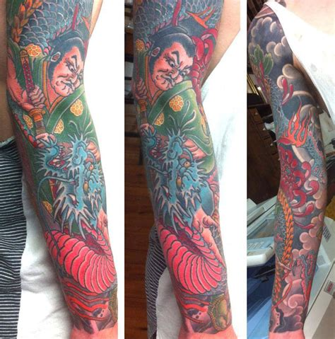 100 dragon sleeve tattoos tattoo sleeves for men
