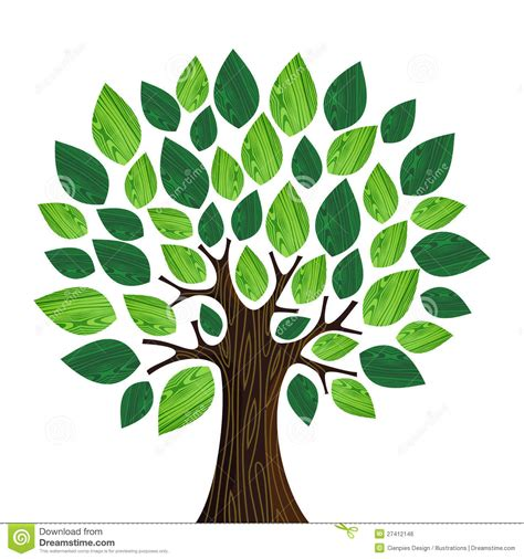 eco friendly concept tree stock vector illustration of earth 27412146