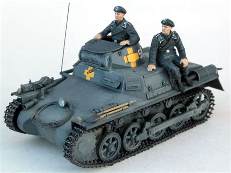 Battalion Bt 1001g Black Gray panzer i ausf a part two painting and finishing by brett