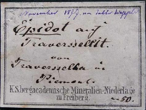 Etiketten Jahn by Gerl Mineralien Etiketten