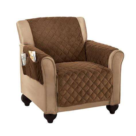 Quilted Recliner Covers Micro Fleece Quilted Furniture Protector By Collections Etc Ebay