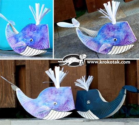 How To Make A Phlet Out Of Paper - 15 best photos of paper plate whale how to make a whale
