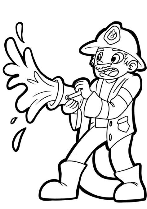 imagenes para colorear bombero la clase de sara bomberos dibujos para colorear