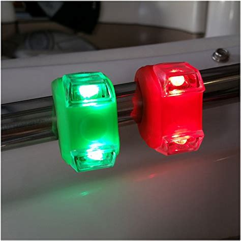 led boat bow lights bright green portable marine led boating lights