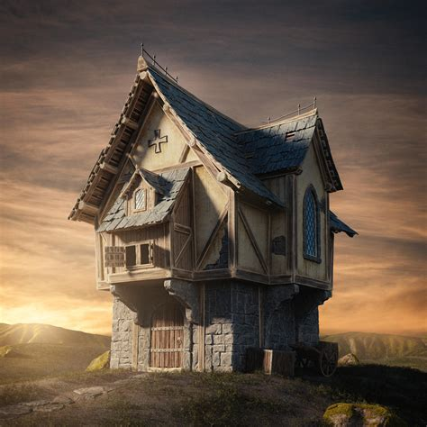 fantasy houses fantasy house by glen94 blendernation