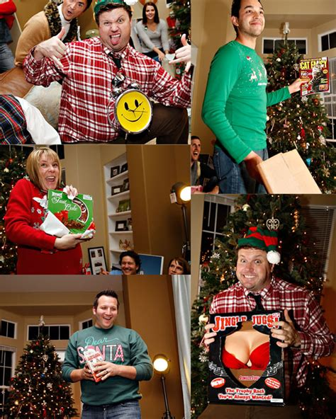 tacky gift swap ideas the sweater destination wedding photographer 949 370 0073