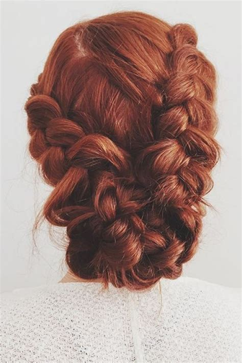 braided hairstyles red hair 45 photos of romantic bridal hair styles hubpages