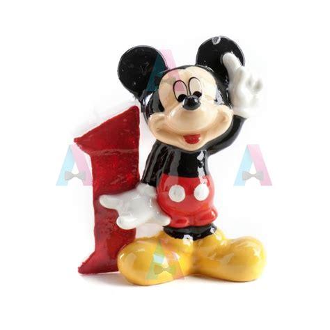 Sprei Mickey Mouse No 3 Fata lumanare 3d pentru tort mickey mouse cifra 1