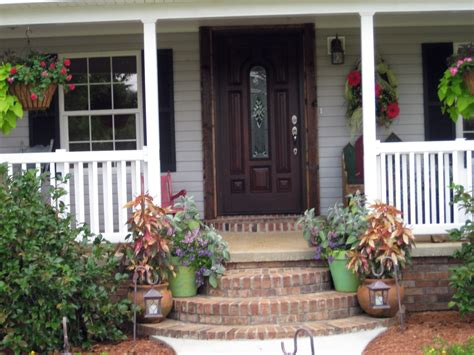 front patio decor ideas small front porch decorating ideas for winter