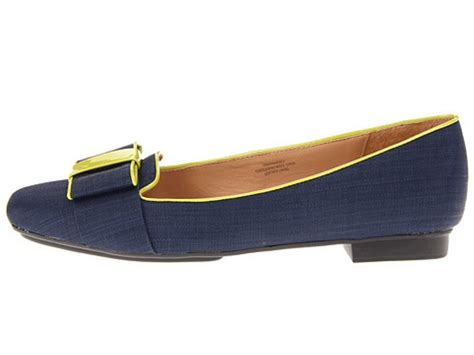 womens navy blue shoes flats womens shoes isaac mizrahi katharine 3 flats loafers navy