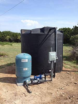 Water Tank For Well Pump Water Storage Tank Systems Texas Water Services And Well
