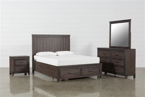 Living Spaces King Bedroom Sets by Hendricks 4 Eastern King Bedroom Set Living Spaces