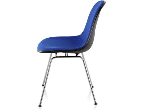 Eames Chair Base by Eames 174 Upholstered Side Chair With 4 Leg Base Hivemodern