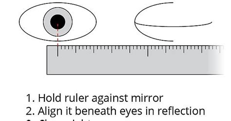 printable ruler for pupillary distance pd ruler print out printable 360 degree