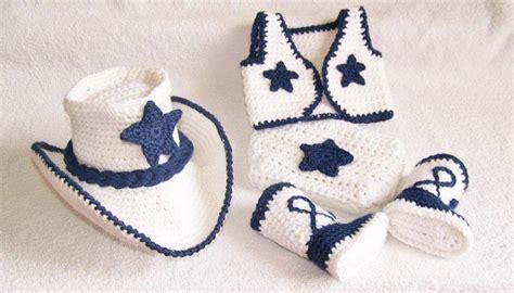 imagenes niños vaqueros conjunto vaquero cowboy tejido crochet sombrero botas beb 233