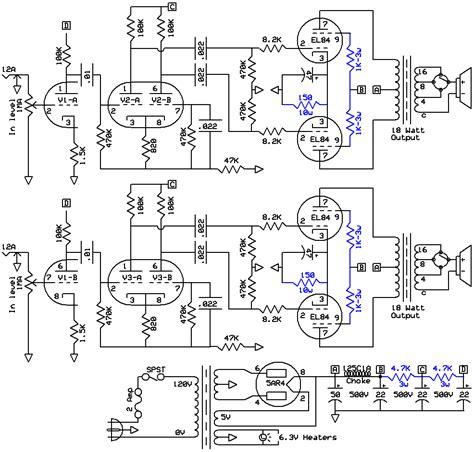 Power Lifier Ca 18 18 watt schematics 18 get free image about