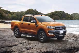 european debut for facelifted ford ranger at the frankfurt