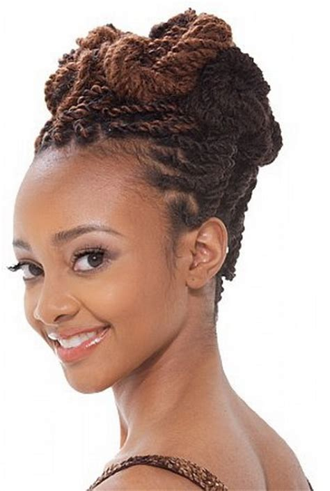 weddings kinky twist hair style african hair braiding styles