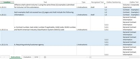 Meridian Proposal Kits Requirements Compliance Matrix Template