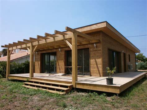 maison bois vallery utilise le pin des landes pour la