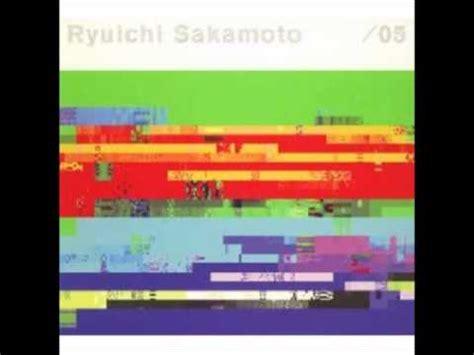 sheet ryuichi sakamoto thousand knives sheet