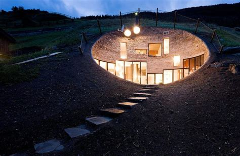 incredible houses amazing house inside a hill 26 pics
