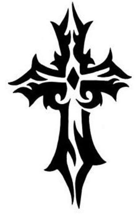 cool tribal cross tattoos cross designs the is a canvas
