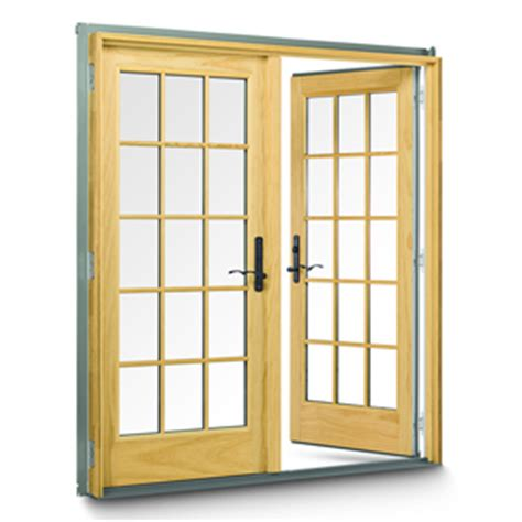 Frenchwood Hinged Patio Doors By Andersen Hybar Andersen Frenchwood Hinged Patio Door