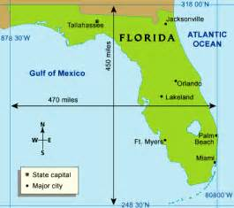 florida landform map florida landform regions map