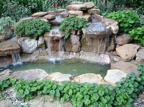 how to build a backyard pond and waterfall 25 beautiful small backyard ponds ideas on pinterest