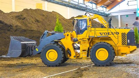 120kg xxxl volvo l 350 f rc wheel loader at work
