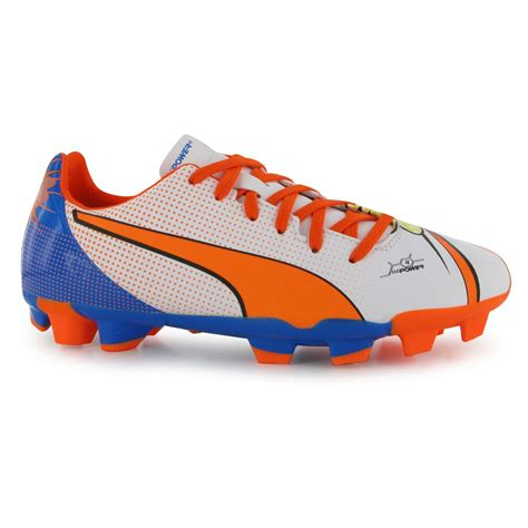football shoes without studs evopow pop 4 fg juniors boys football boots