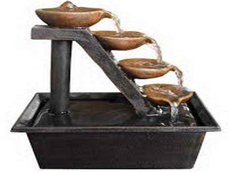 decoration beautiful tabletop water fountains table top
