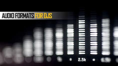 Audio Format Explained | dj audio formats explained pcdj