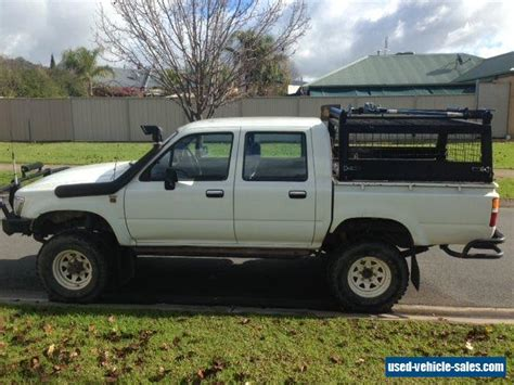 Toyota 4x4 For Sale Toyota Hilux Ln106 1995 4x4 For Sale In Australia