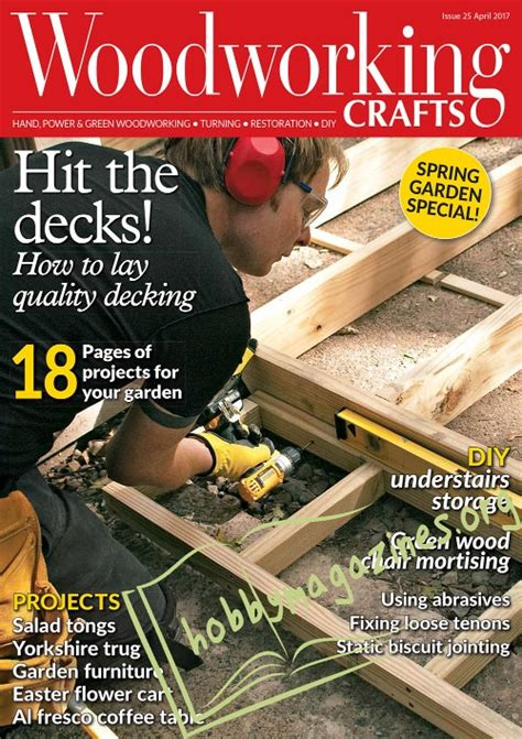 woodworking books free woodworking crafts 025 april 2017 187 hobby magazines