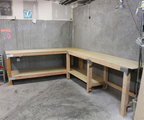 work bench for garage steel workbench plans full size of garage garage