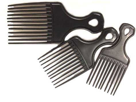 is bad to curlhair for a comb afro comb barber hairdress salon quality cut curly hair