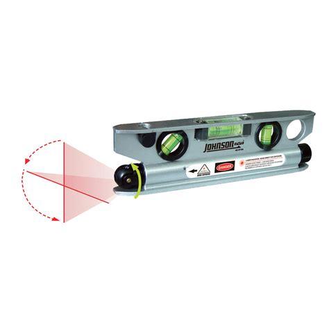 johnson level tool magnetic torpedo laser level model