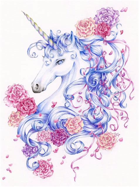 believe in miracles a unicorn coloring book unicorn coloring books volume 1 books unicorn print ribbons and roses by