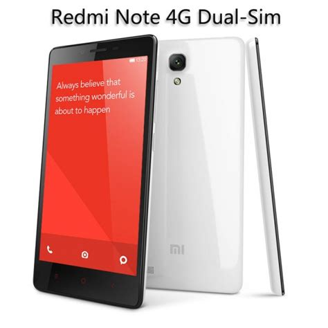 Hp Xiaomi Redmi Note 4g Dual Sim buy xiaomi redmi note 4g dual sim 1gb ram redmi note price