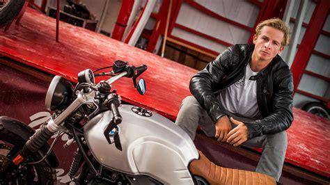 daniel roesner actor  thrill seeker bmw motorrad